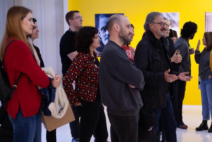 visita guiada en la exposición Mira a Mir