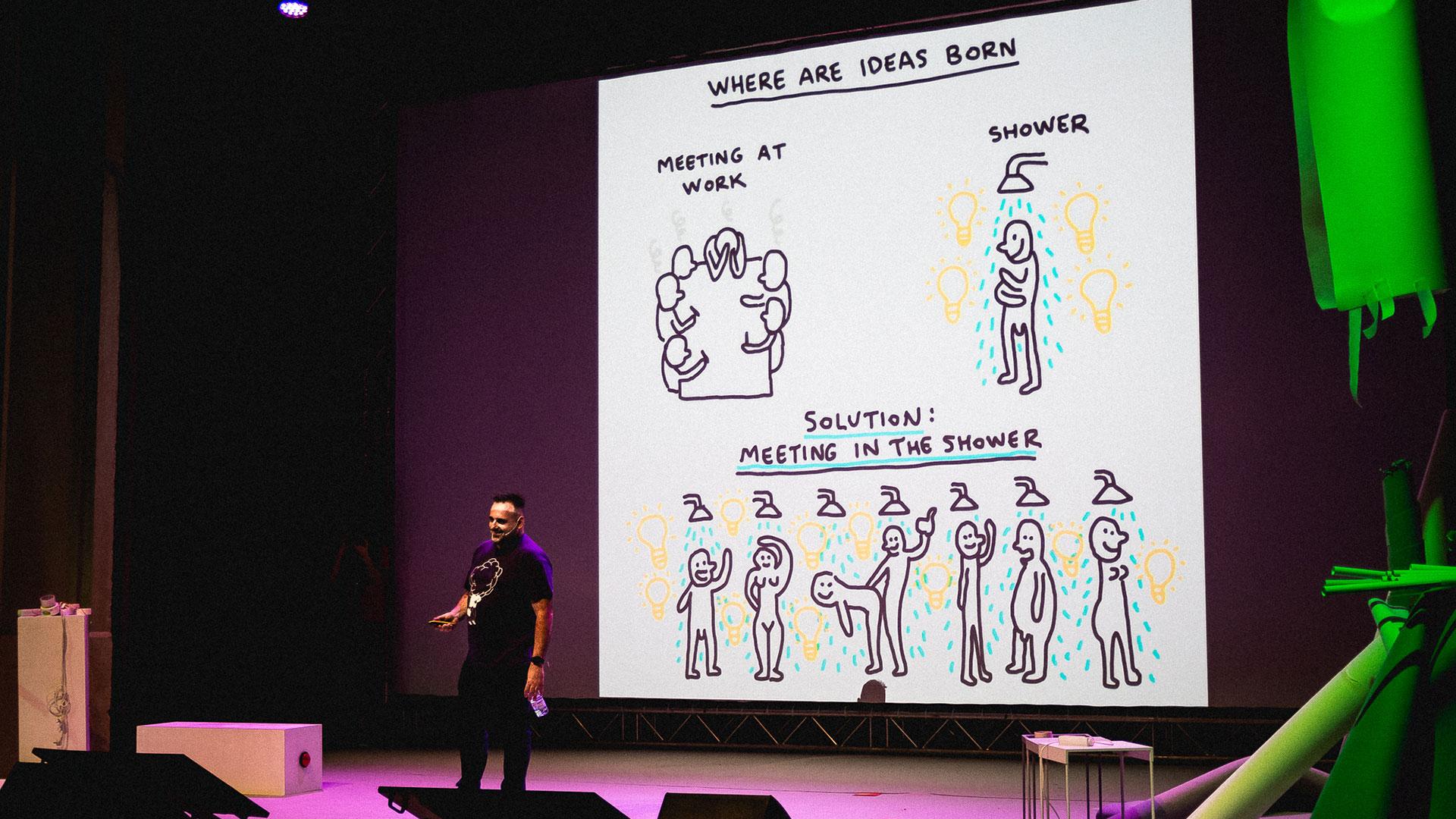 Javi Royo - Ilustrador - Conferencia - Blanc!