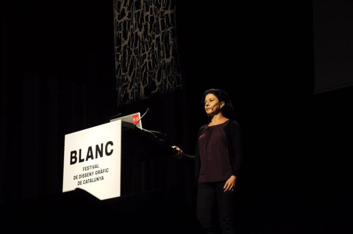 La diseñadora Pati Núñez en Blanc!