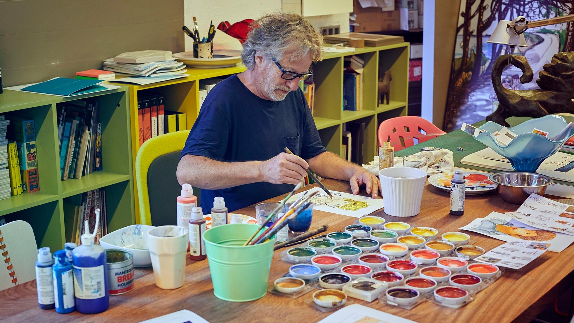 Javier Mariscal «El grafismo ayuda a vivir bien»