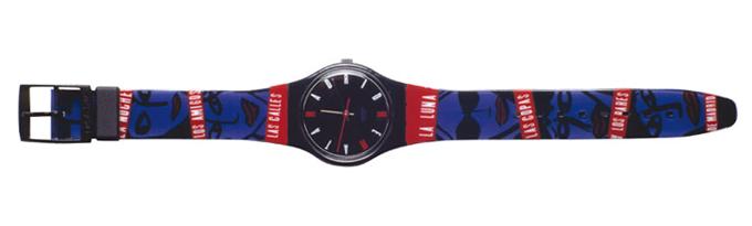 Óscar Mariné - Reloj Swatch