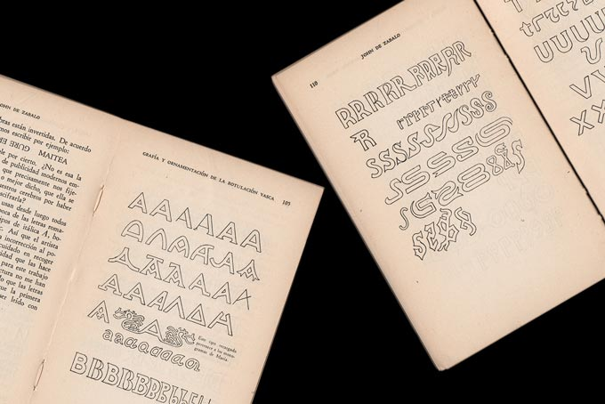 Arquitectura popular y escritura vasca, P. y J. de Zabalo (1947)