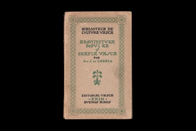 Libro sobre tipografía vasca