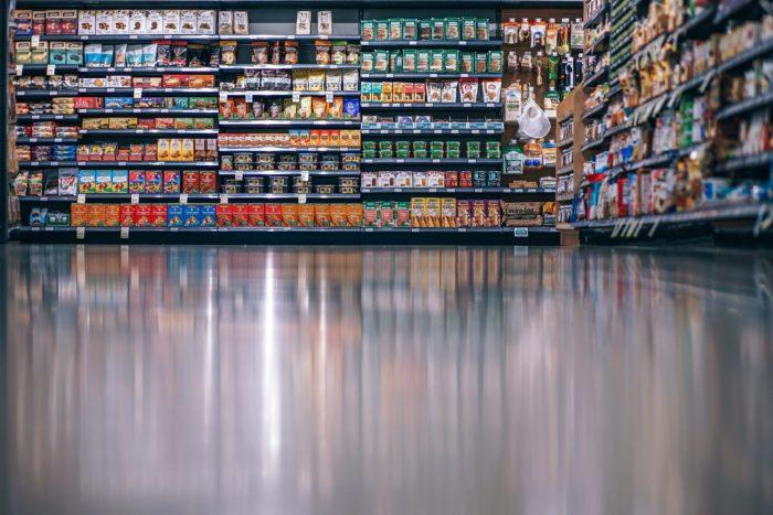 experiencia de usuario. Supermercado