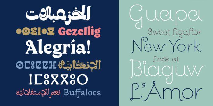 Diseño de tipografía Laura Messeguer